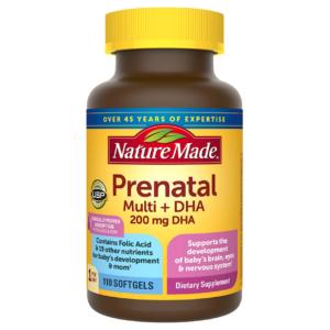 nature made prenatals